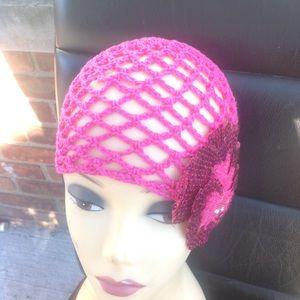 Ingwa melero crochet flapper hat